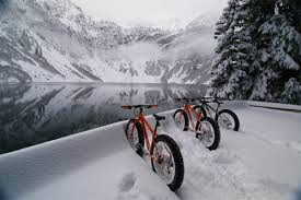 It's snowing….got Fat Bike?