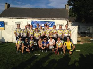 Yellow Jersey Cycle CT Challenge Team Raises $37,428 for Cancer!